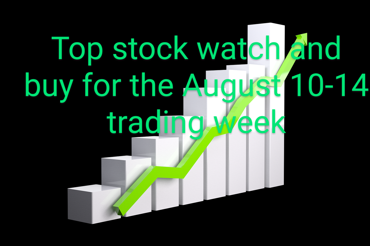 A Top Stock To Watch And Buy For The August 10-14, 2020 Trading Week.