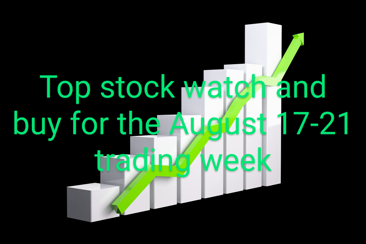 A Top Stock To Watch And Buy For The August 17-21, 2020 Trading Week.