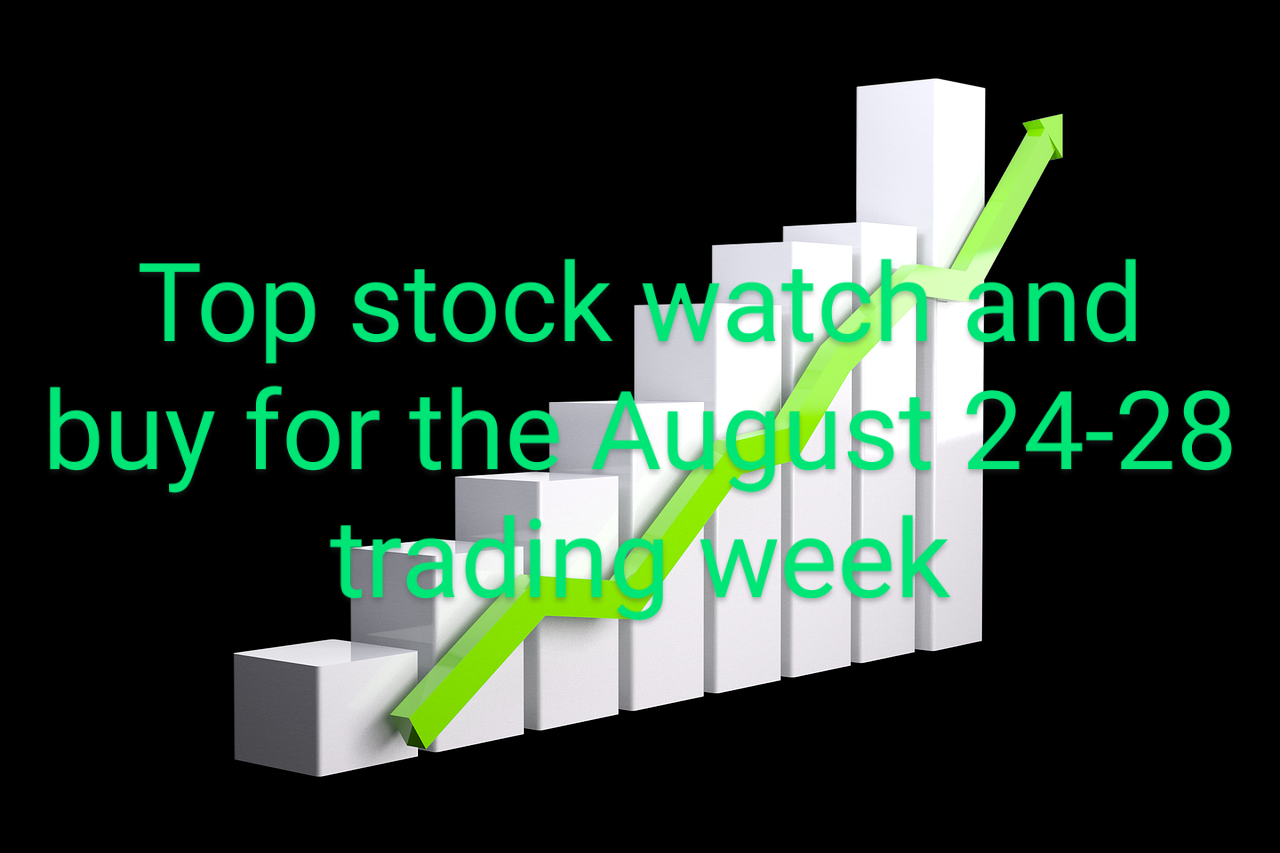A Top Stock To Watch And Buy For The August 24-28, 2020 Trading Week.